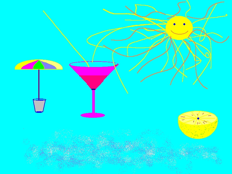 this is how i see the summer